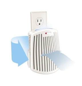 Best Air Purifier for Bathroom - Hamilton Beach TrueAir Plug-Mount Odor Eliminator Nightlight (04531GM)