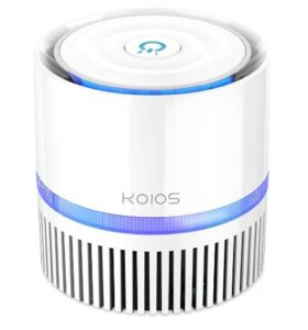 Best Air Purifiers for Bathrooms - KOIOS Air Purifier Air Cleaner with 3-in-1 True HEPA Filter for Home