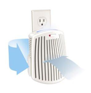 Best Plug-mount Air Purifier - Hamilton Beach TrueAir Plug-Mount Odor Eliminator Nightlight with Carbon Filter (04531GM)